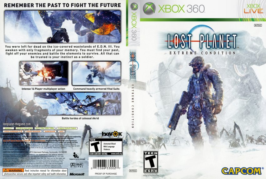 the lost planet game