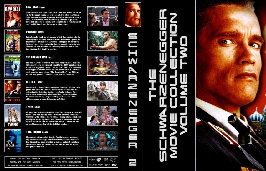 Schwarzenegger Collection - Movie DVD Custom Covers - Schwarzenegger ... Arnold Schwarzenegger