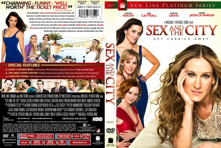 Sex and the City - Movie DVD Custom Covers - SexAndTheCity Z :: DVD ...