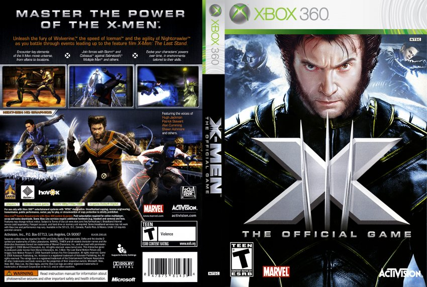 X-men: the official game (game) giant bomb.