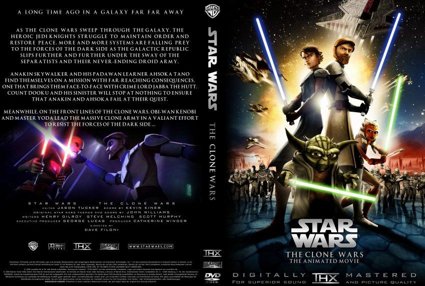 Star Wars The Clone Wars Movie Dvd Clone Wars 2008 Movie