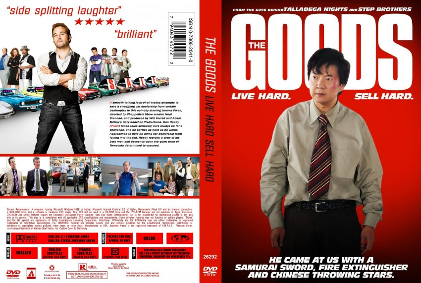 The Goods Live Hard Sell Hard Dvd