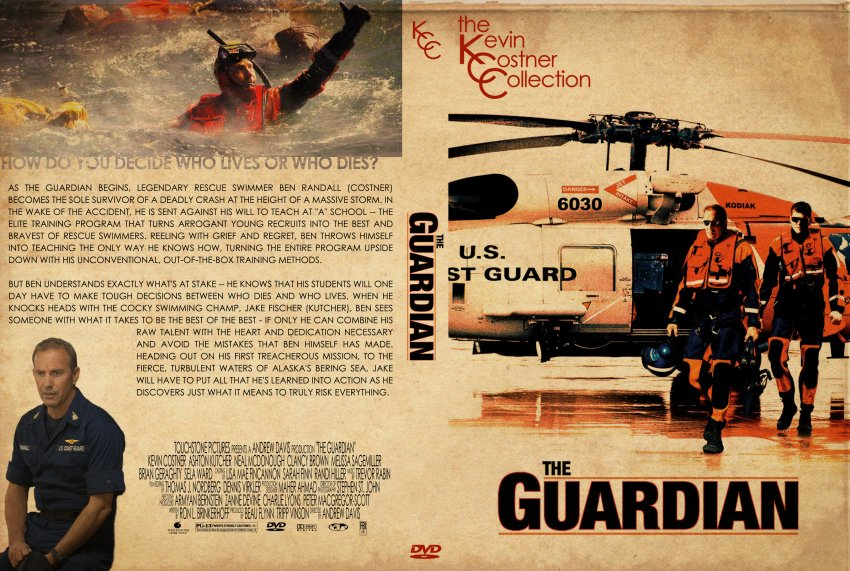 The Guardian - The Kevin Costner Collection - Movie DVD Custom Covers ...