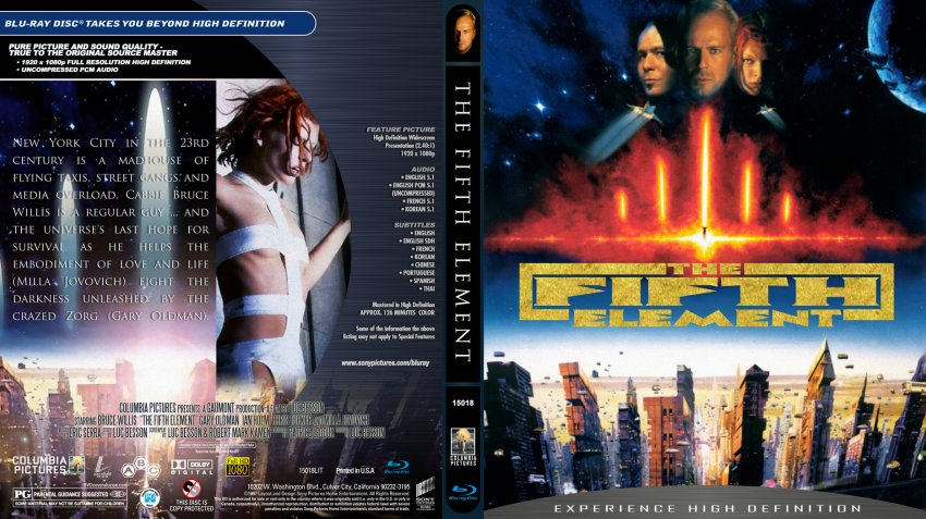 5th element adult dvds