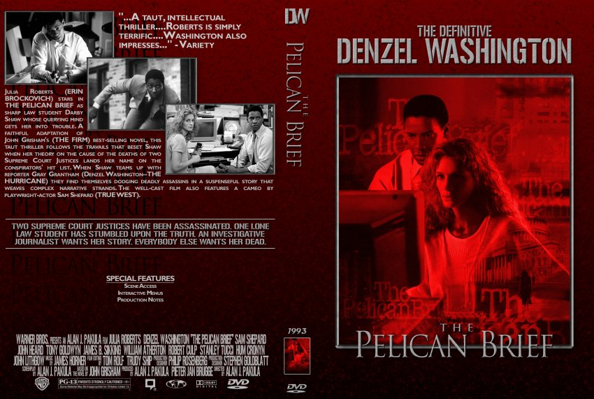 the suspenseful atmosphere in the pelican brief The pelican brief momax a law student is forced to go on the run after she uncovers an assassination plot based on a trail of murdered judges, a revelation which puts her own life in jeopardy.