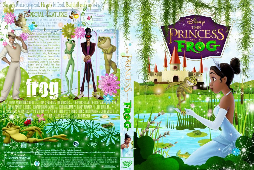 The Princess And The Frog - Movie DVD Custom Covers - The ...