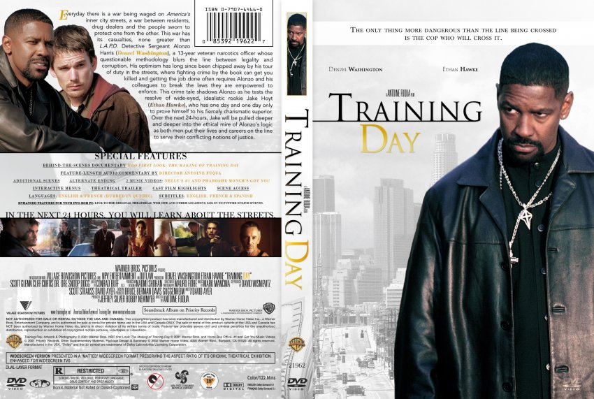 Training Day - Movie DVD Custom Covers - Training Day2 ...