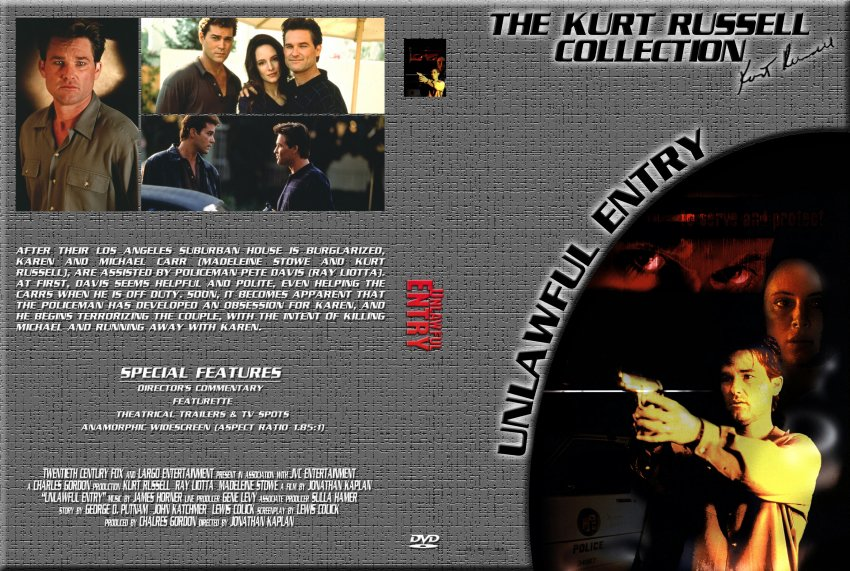 Unlawful Entry - The Kurt Russell Collection - Movie DVD ...