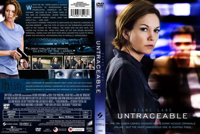 Untraceable the movie website
