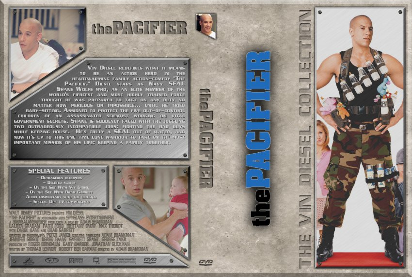 The Pacifier - Movie DVD Custom Covers - Vin Diesel - The ...