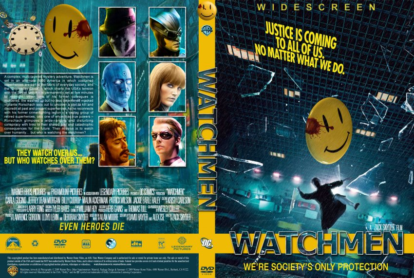 Watchmen - Movie DVD Custom Covers - Watchmen1 :: DVD Covers
