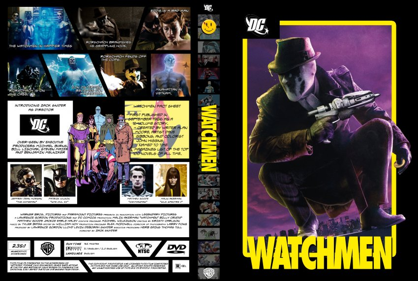 Watchmen - Movie DVD Custom Covers - Watchmen6 :: DVD Covers