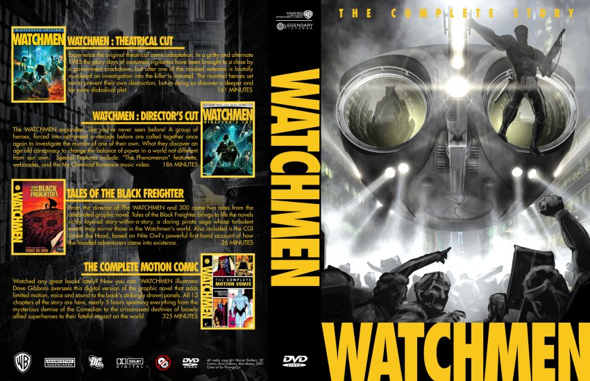 Watchmen complete coll...