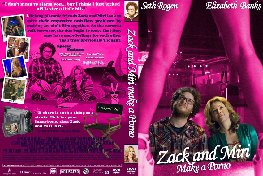 Zack And Miri Make A Porno Dvd Cover 10