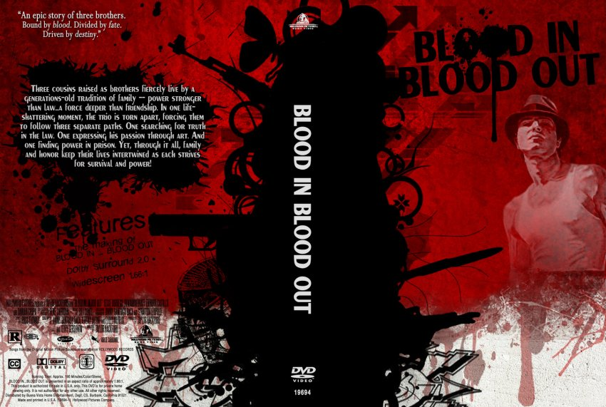 Blood In Blood Out Logo Blood In Blood Out