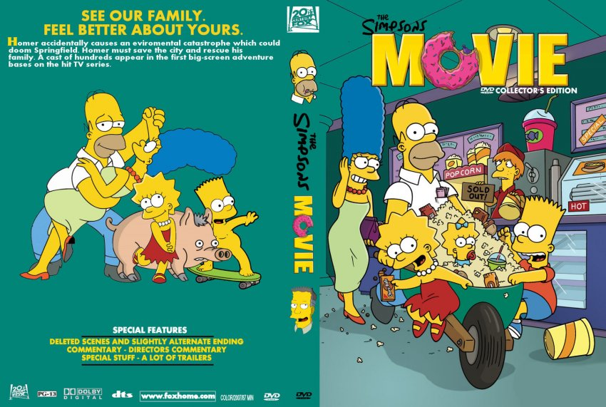 an analysis of the tv series the simpsons But quality animated tv series of the decidedly grown-up  the world according to the simpsons explains how americans  featured in the animated television an.