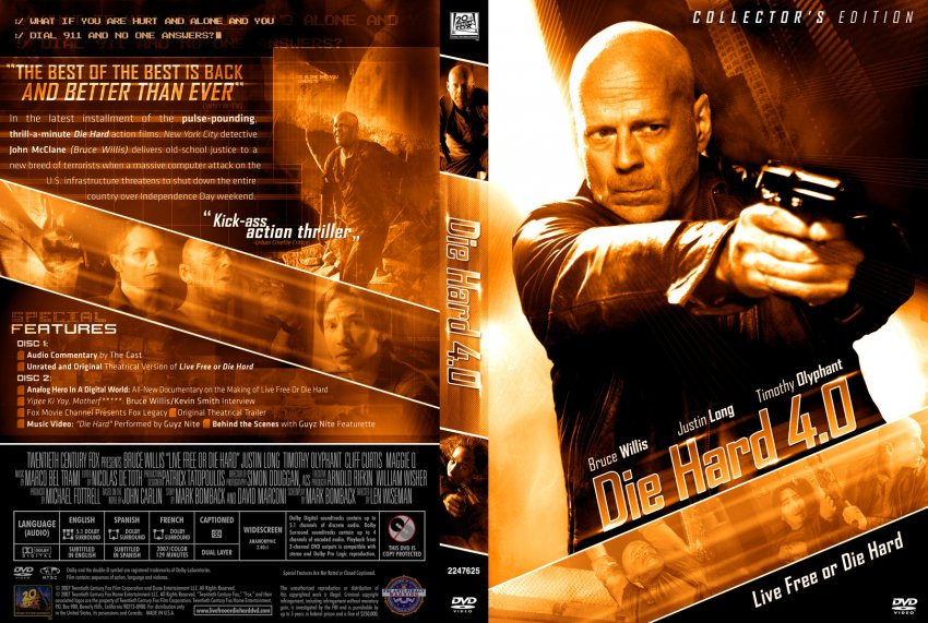 Live Free Or Die Hard Blu-ray From Steelbook for sale online