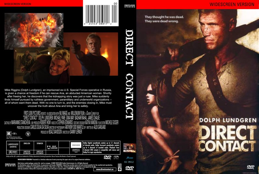 Direct Contact DVD-Cover