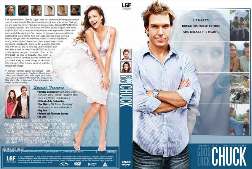 Good Luck Chuck - Movie DVD Custom Covers - goodluckchuck ...