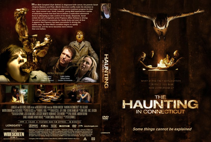 the haunting in connecticut movie dvd custom covers