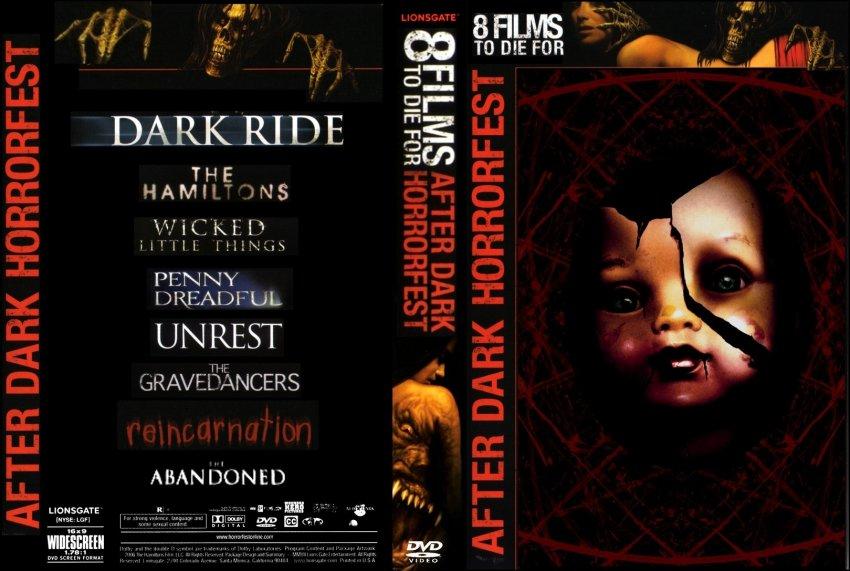 after dark horrorfest movie dvd custom covers