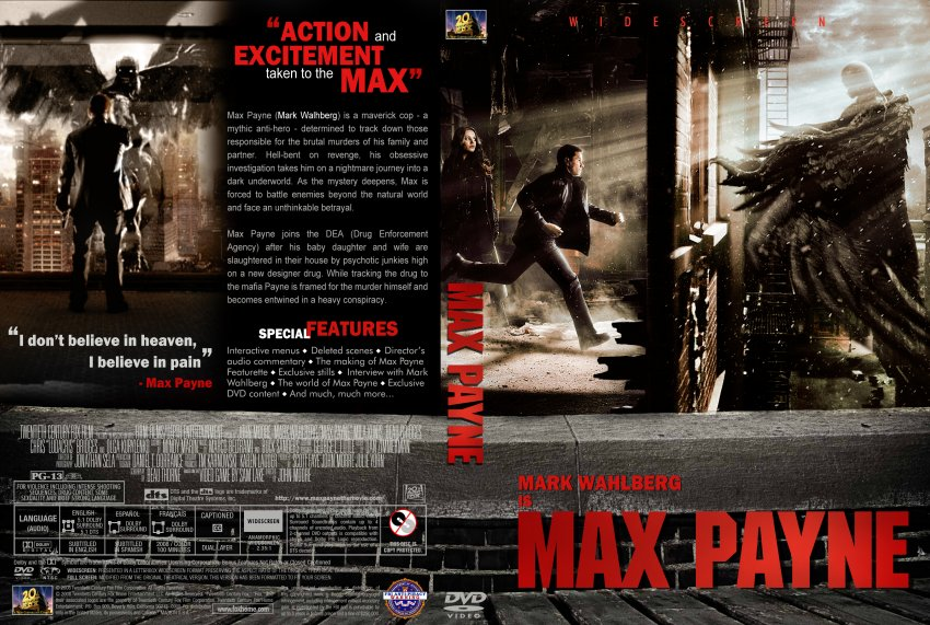 max payne 1 cover art