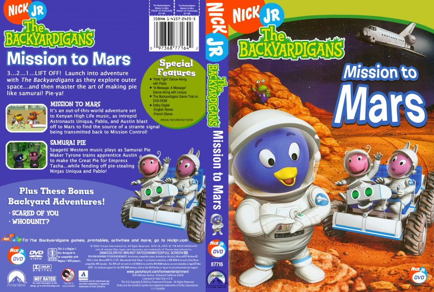 backyardigans mission to mars puzzles - photo #23