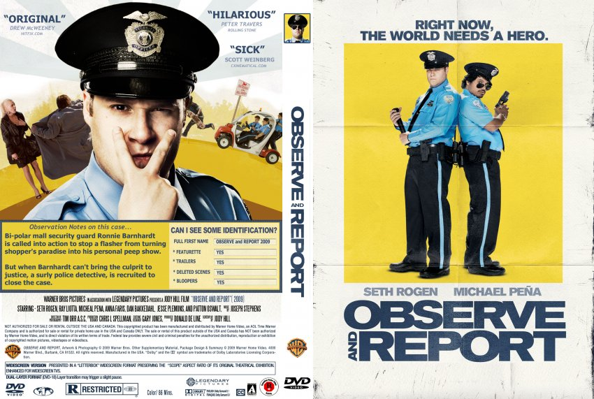 observe and report Watch observe and report full movie online for free on putlocker movies.