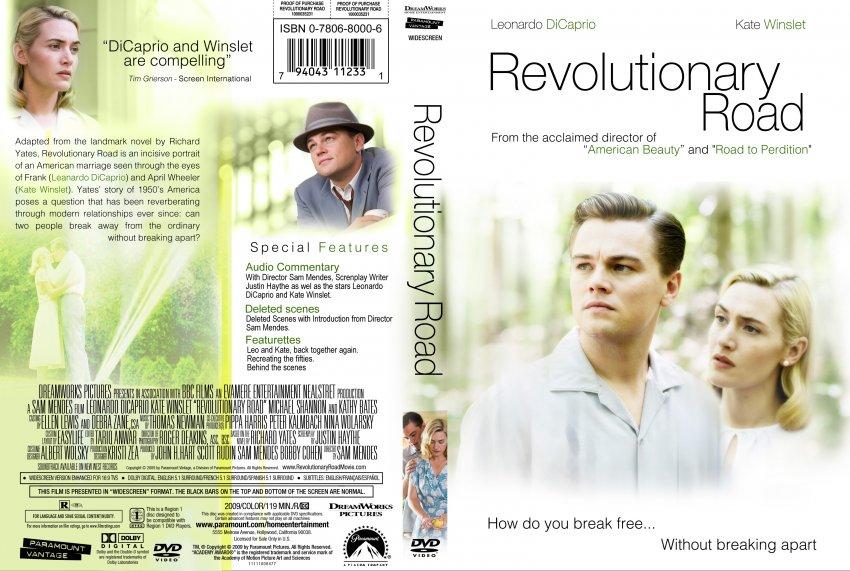 Revolutionary Road - Movie DVD Custom Covers - revolutionary road 2 ... Revolutionaryroad