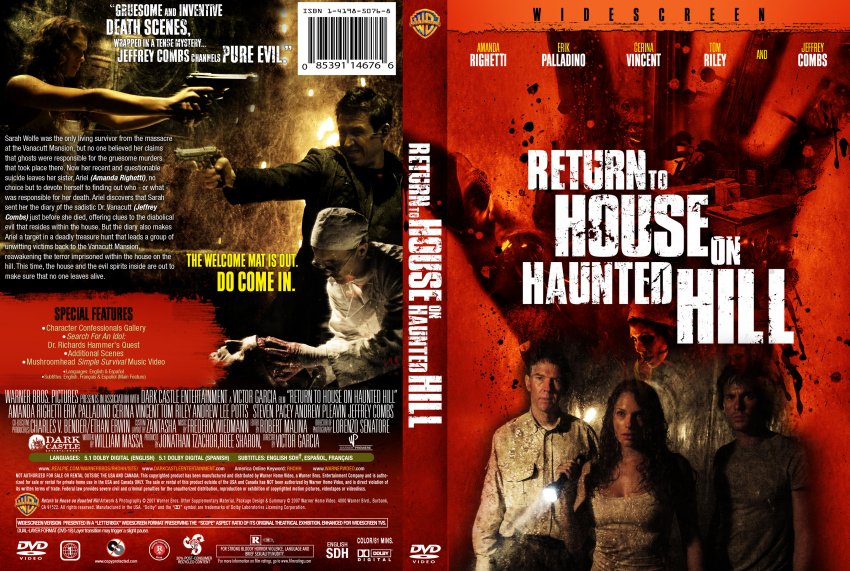 Haunted Hill Movie to House on Haunted Hill