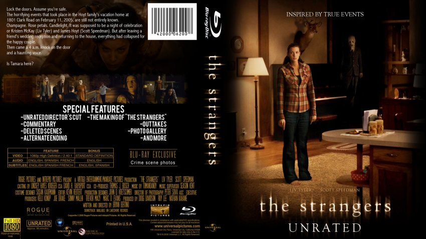 the strangers movie bluray custom covers bluray3