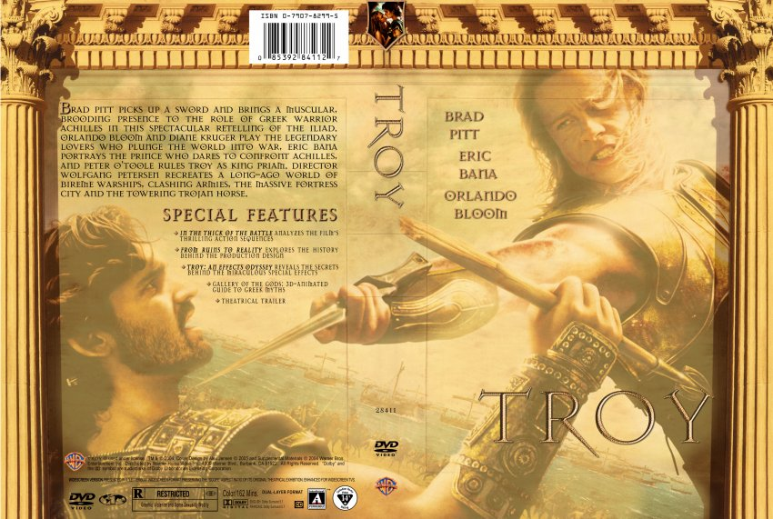 use of the iliad by the movie troy essay The iliad begins near the end of the 10-year siege of troy by the achaeans the war began because helen, the wife of the achaean chieftain menelaus, ran away with the trojan prince, paris the achaeans lay siege to troy to recover helen.