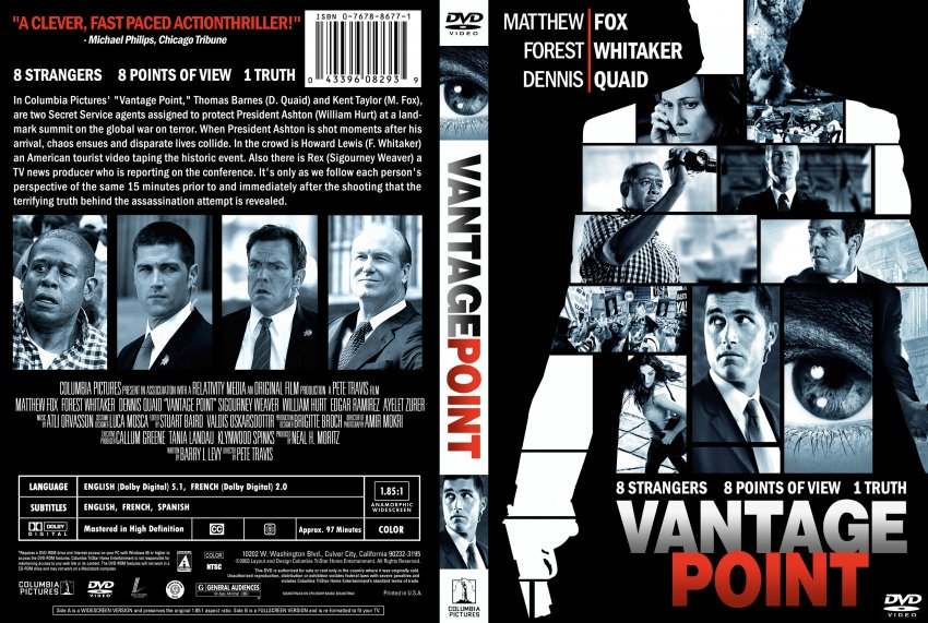 Vantage Point - Movie DVD Custom Covers ...