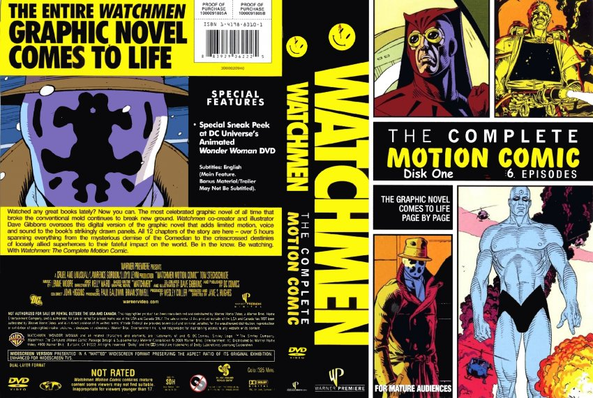 Watchmen Comic Cover W...