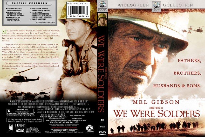 we were soldiers - movie dvd custom covers