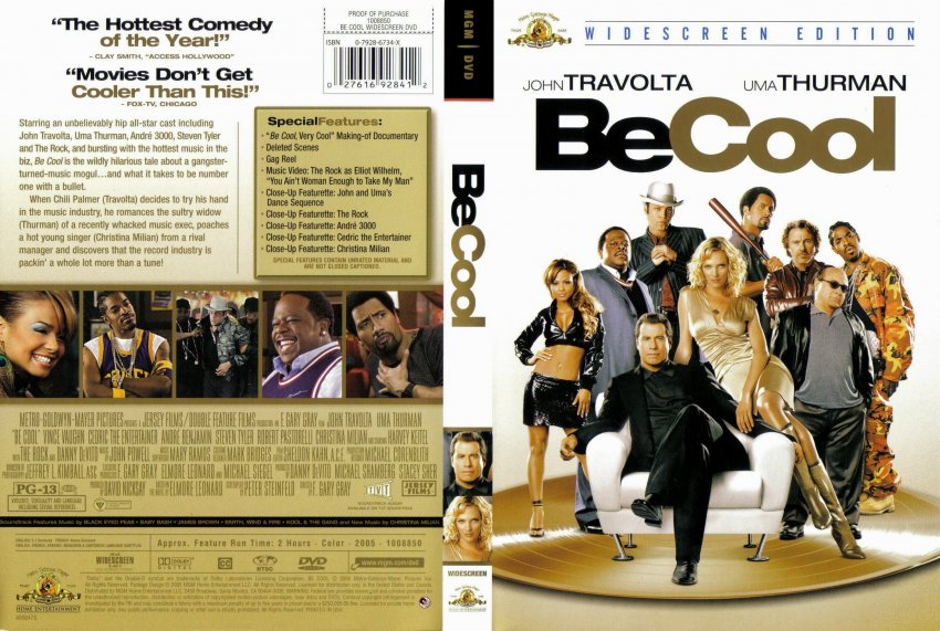 Be Cool - Movie DVD Scanned Covers - 1039Be Cool :: DVD Covers