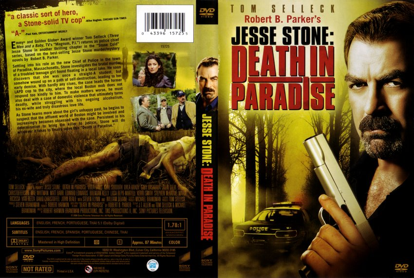 jesse stone death in paradise movie dvd scanned covers
