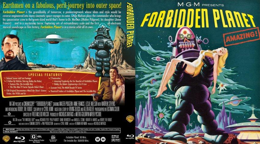 Forbidden Planet DVD Cover