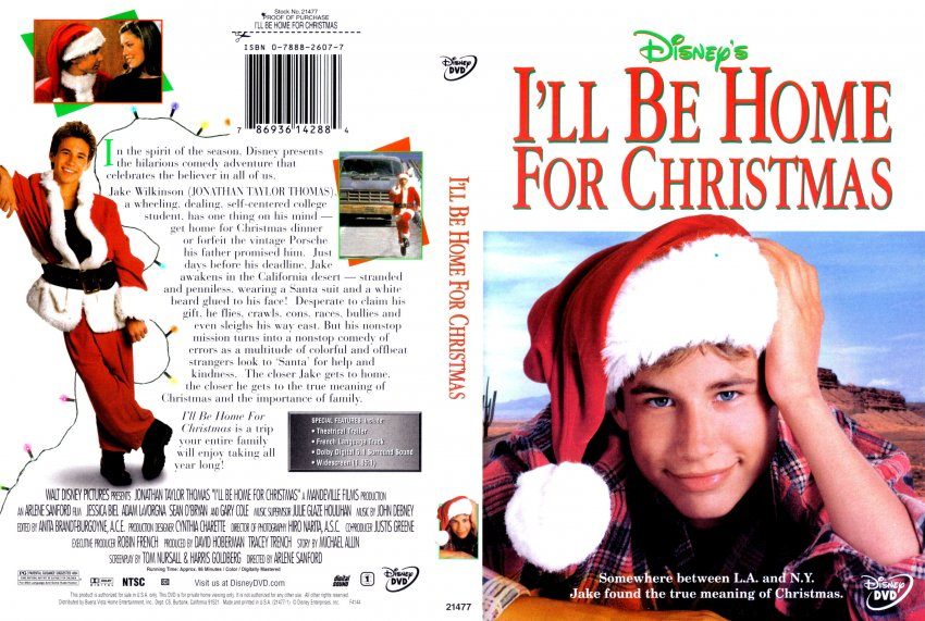 i39ll be home for christmas movie dvd scanned covers - I Ll Be Home For Christmas Film