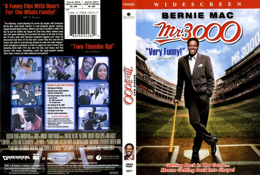Mr. 3000 - Movie DVD Scanned Covers - 10Mr 3000 scan ...