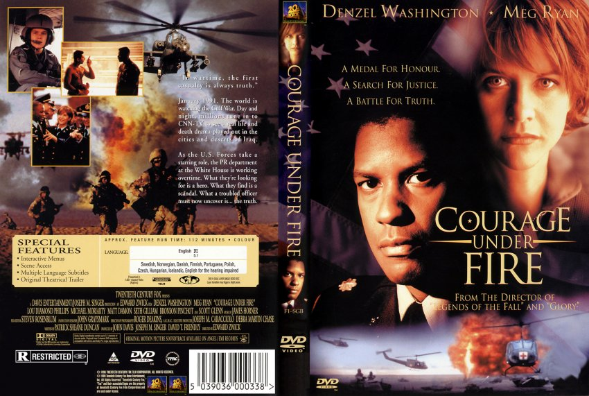 Courage under fire dvd