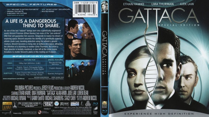 gattaca andrew niccol s film Dr lamar is the doctor and physician in the film gattaca, driected by andrew niccol according to ledgend he pretends to admire other people's cocks but in truth he is just trying to hide the fact that he has the largest cock of all, measuring nearly 3'ft.