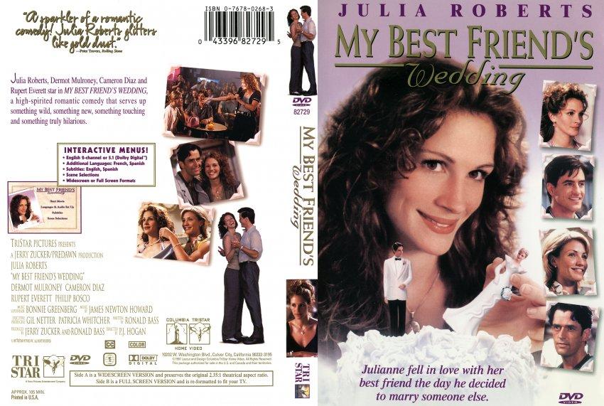 my best friend s wedding dvd scanned covers