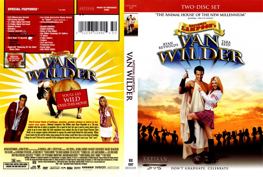 National Lampoon's: Van Wilder - Movie DVD Scanned Covers ...