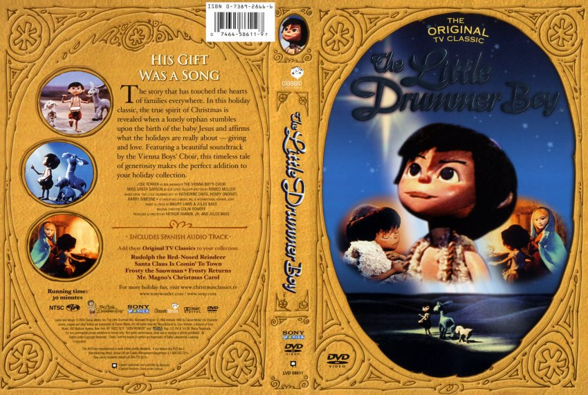The Little Drummer Boy - Movie DVD Scanned Covers
