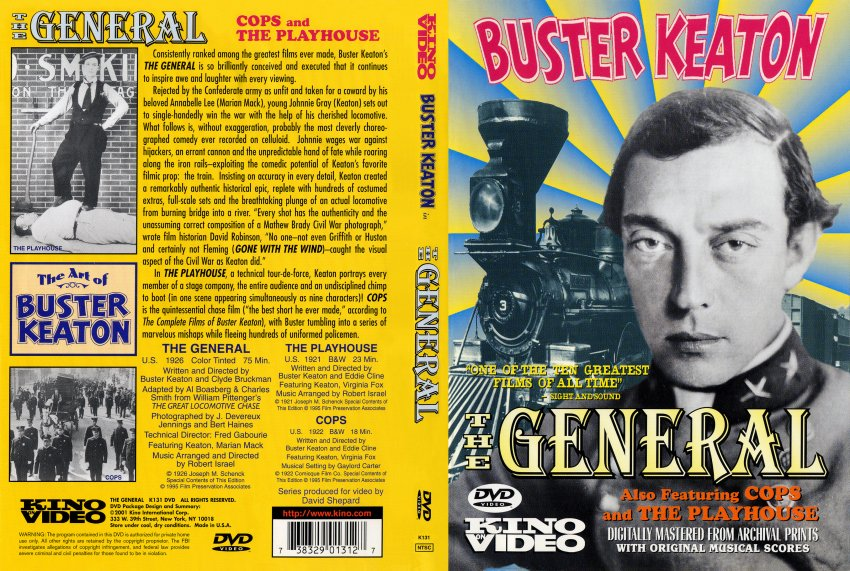 The General 1927 Buster Keaton