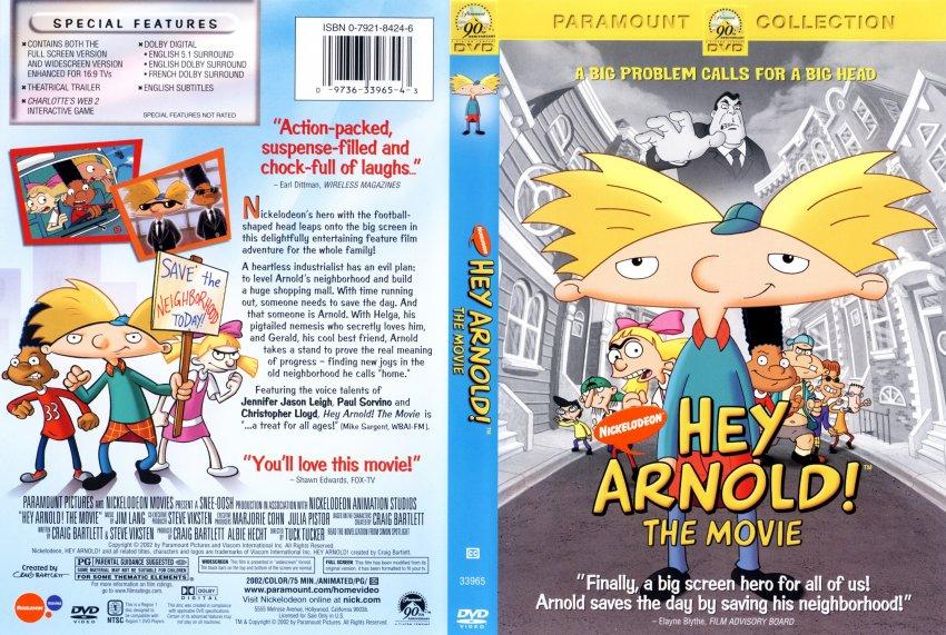 Image Gallery hey arnold movie dvd