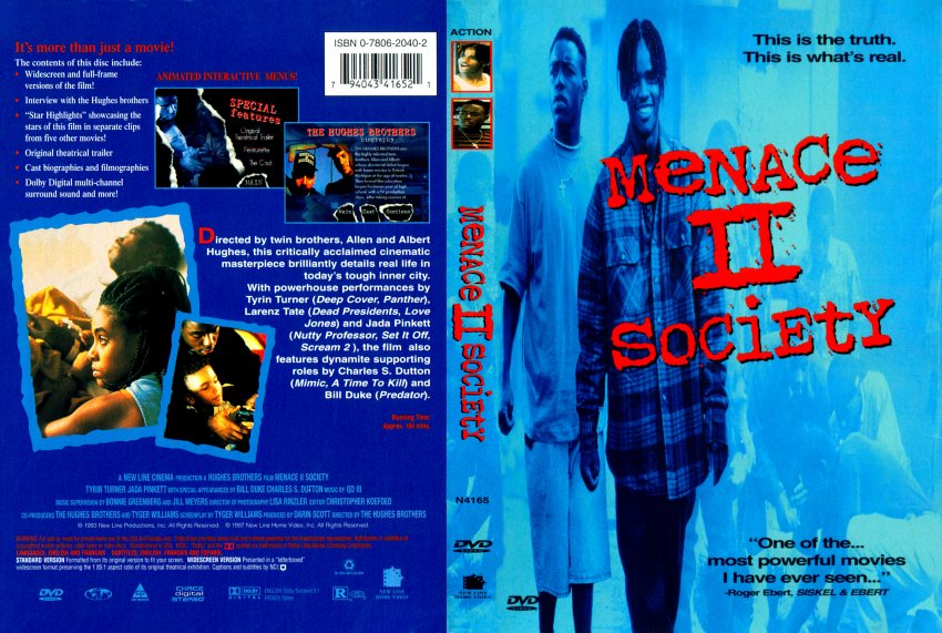 Menace II Society - Movie DVD Scanned Covers - 124Menace ...