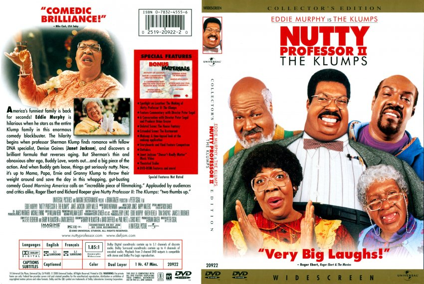 Collector Connect » Movie Database » Nutty Professor II: The Klumps ...