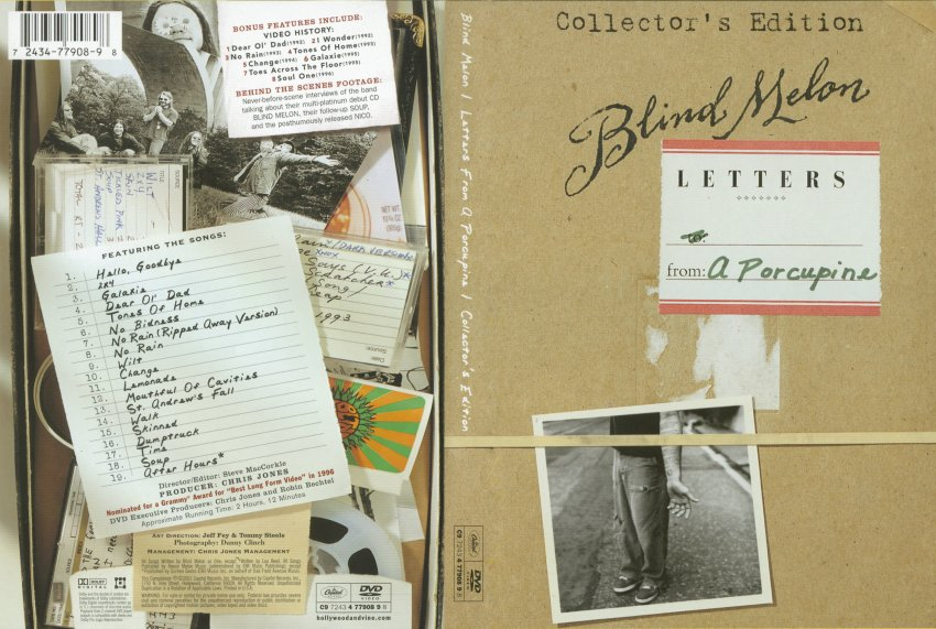 Blind Melon - Letters From A Porcupine - Movie DVD Scanned Covers ...